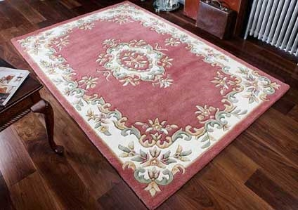 ROYAL AUBUSSON ROSE RUG