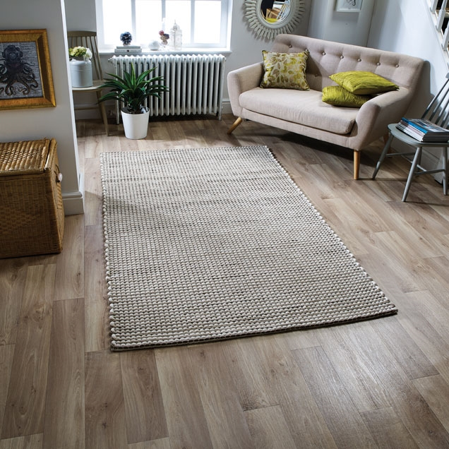 Ashton Mink 100% Felted Wool Rugs