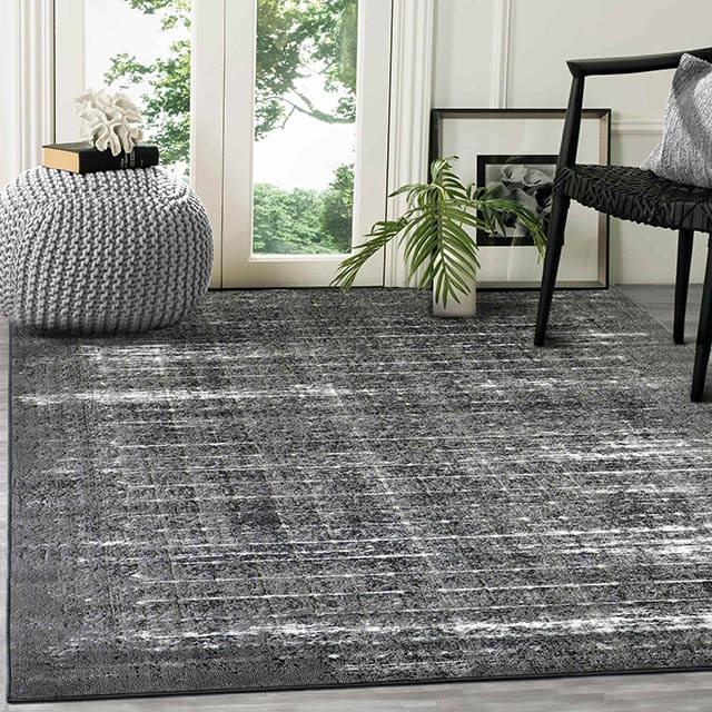 Shadow 5167 Grey & Ivory Rugs