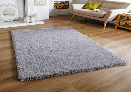 SOFTNESS GREY SHAGGY RUG