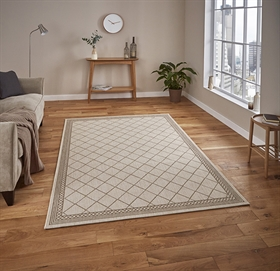 Cottage CT 7643 Wool Mink Flatweave Rugs