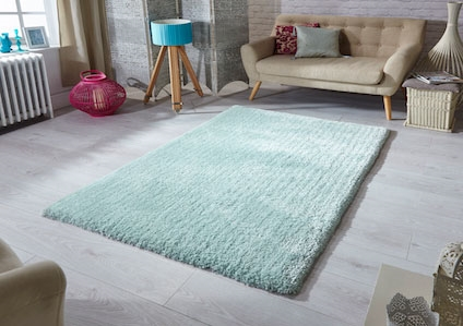 SOFTNESS MINT SHAGGY RUG