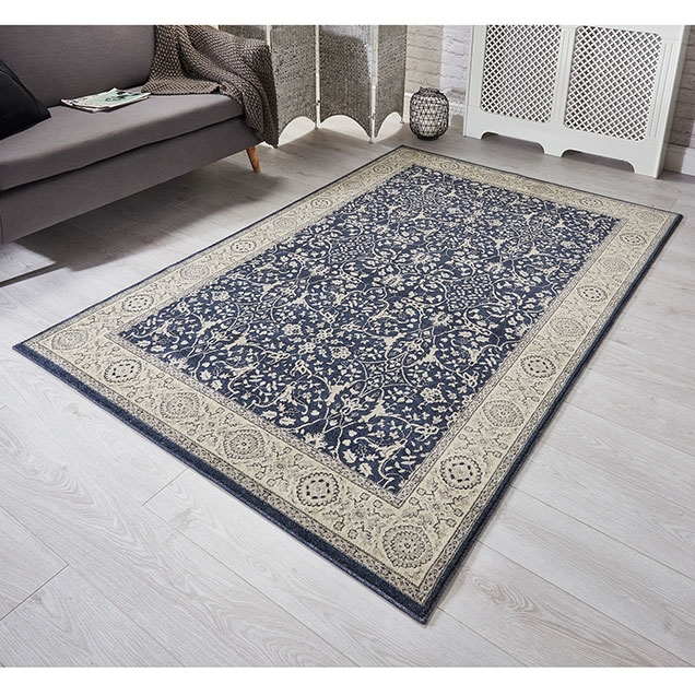 RICHMOND 1 Z BLUE RUG