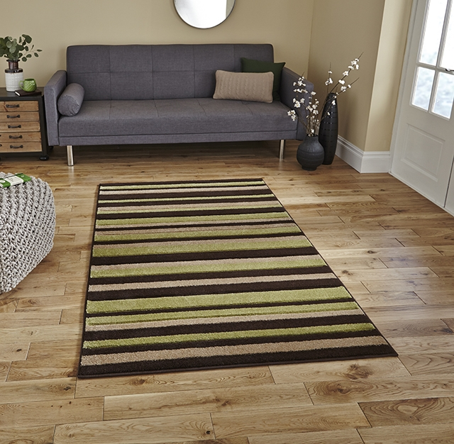 Matrix MT22 Brown/Green Rug