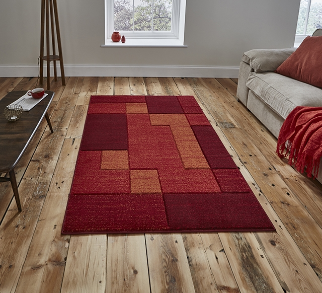 Matrix A0221 Red Rug