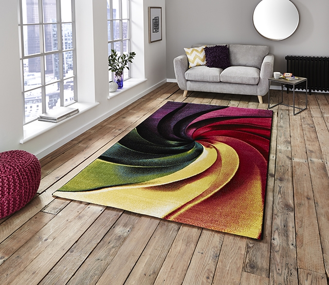 Sunrise Y498A Multi Rug