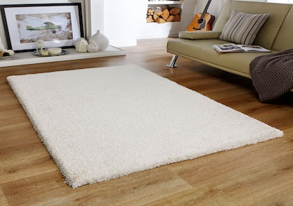 SOFTNESS CREAM SHAGGY RUG