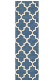 Arabesque Denim Blue Runner