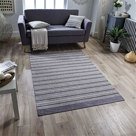 Pacific 126 X Anti slip Grey Rug