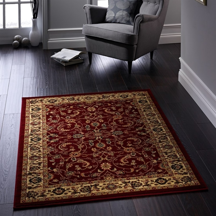 Gracie Red Traditional Persian Rugs