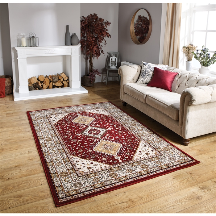 Royal Classic 93 R Red Wool Rug