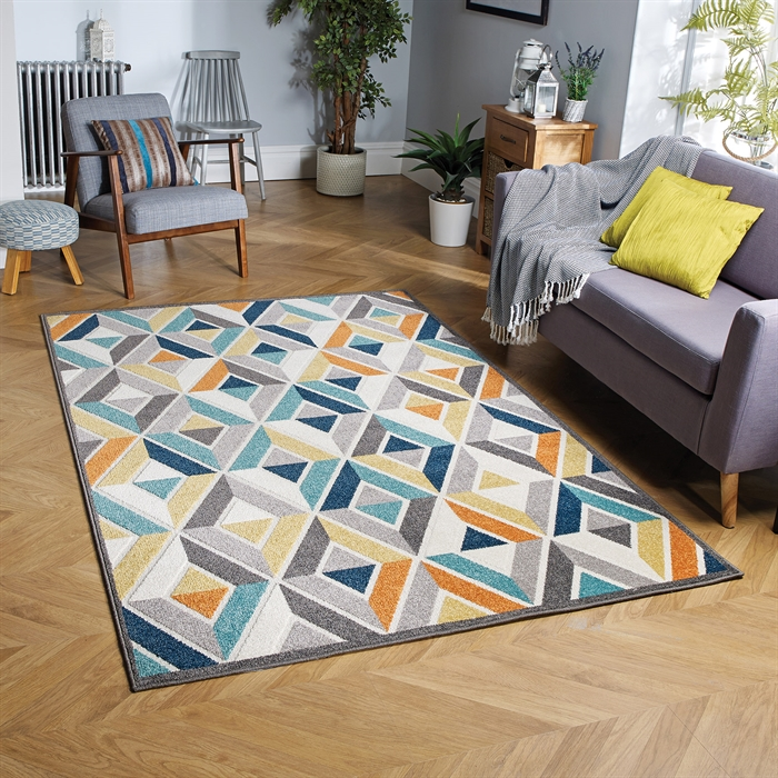 Havana 114 D Anti slip indoor and outdoor Rugs