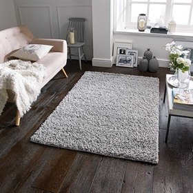 ELSA GREY SHAGGY RUG