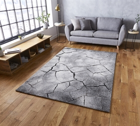 Woodland 21007 Grey Modern Rugs