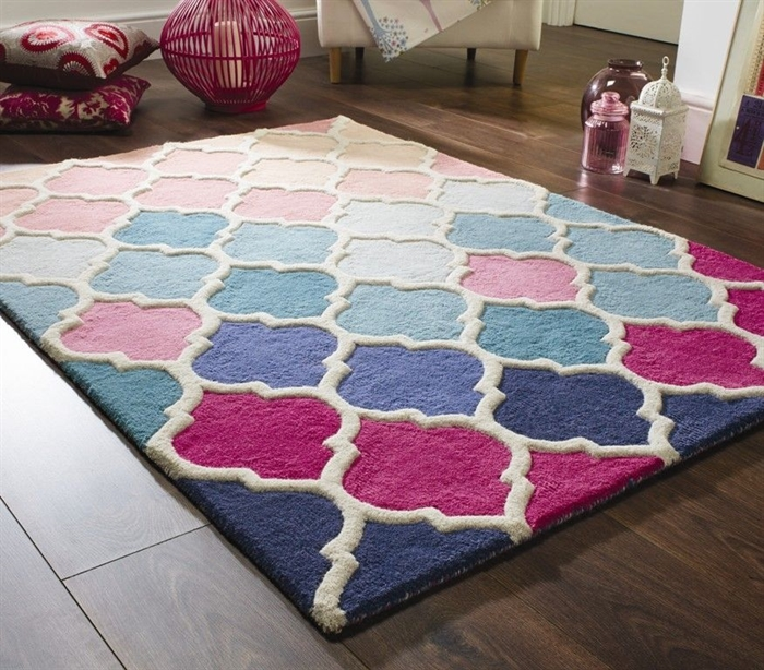Illusion Rosella wool Rugs
