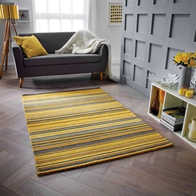 Carter Ochre Wool Rugs
