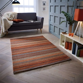 Carter Rust Wool Rugs
