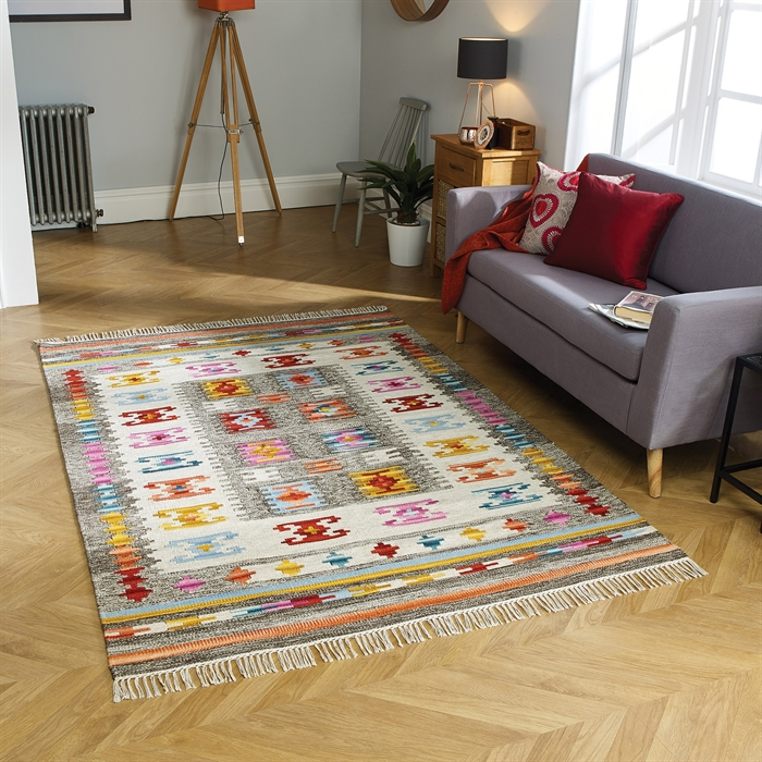 Kasa Natal Rugs in Multicolours