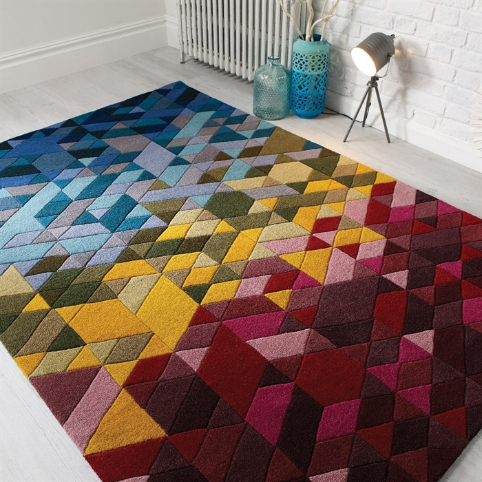 Illusion Kingston wool Rugs