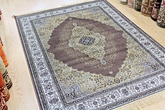 Zrabi Persia Brown Machin Washable Rugs
