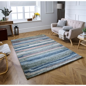 Vista Multi Wool Modern Rugs