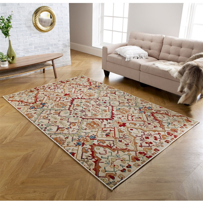 Valeria 20 W Multi Traditional Rugs
