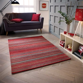 Carter Red Wool Rugs