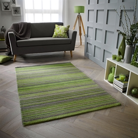 Carter Green Wool Rugs